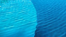 Vakantiemeetkunde - geometrische patronen in pool Royalty-vrije Stock Afbeeldingen