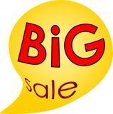 Vakantieverkoop en embleem van de kortingen het groot verkoop en pictogram Stock Foto's