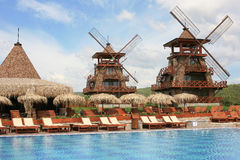 Vakantiewoning Stock Foto