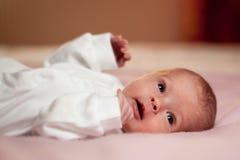 vaket little som är nyfödd Royaltyfri Fotografi