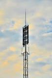 Vaket sirensystem för gemenskap Arkivfoton