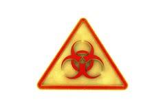 Vaket tecken för virus för illustrationbildskärm för dator 3d säkerhet Arkivfoton