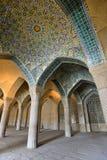 Vakil清真寺在设拉子,伊朗 免版税图库摄影