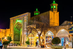 Vakil清真寺,一个清真寺在设拉子,南伊朗 库存图片