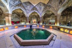 Vakil Baths in Shiraz Stock Image