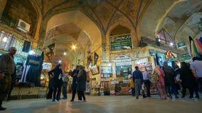 In Vakil-Bazaar van Shiraz, Iran stock videobeelden