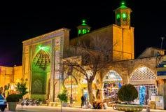Vakil meczet, meczet w Shiraz, południowy Iran obrazy stock