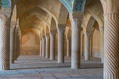 Vakil-Moschee in Shiraz, der Iran stockfotografie