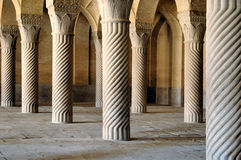 Vakil Mosque. An impressive monument from the Zand era Stock Photo