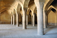 Vakil Mosque royalty free stock photo