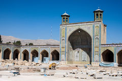 Vakil mosque under reconstruction Stock Images