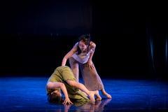 Vakna hennes upp-handling 1: Sova-modern dansdrömmarnas land royaltyfria foton