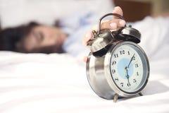 Vakna upp, det är dags att starta att förbereda sig för en ny dag Arkivbild