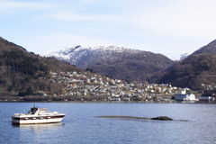 vaksdal的挪威 免版税库存图片