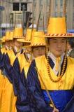 Vakt-ändrande ceremoni för kunglig person Royaltyfria Foton