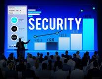 Vakt Concept för Firewall för avskildhet för sekretess för säkerhetsskydd Royaltyfri Bild