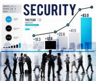 Vakt Concept för Firewall för avskildhet för sekretess för säkerhetsskydd royaltyfria foton