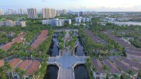 Vakten House till Florida utfärda utegångsförbud för gemenskap Arkivbild