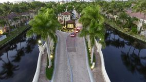 Vakten House till Florida utfärda utegångsförbud för gemenskap Royaltyfri Foto