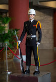 Vakter i Sun Yat-sen Memorial Hall Royaltyfri Fotografi
