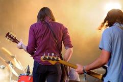 Vaktmusikbandet, utför på den Heineken Primavera ljudfestivalen 2013 arkivfoto