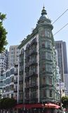 Vaktpostbyggnaden, en San Francisco Designated Landmark, 2 arkivfoton