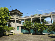 Vakttornet av Jing-Mei Human Rights Memorial och kulturellt parkerar royaltyfri fotografi
