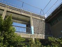 Vakttornet av Jing-Mei Human Rights Memorial och kulturellt parkerar royaltyfri bild