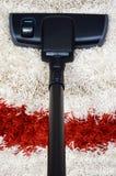vakuum för rör för borsterengöringsmedel Royaltyfri Foto