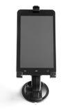 vakuum för tablet för blockPCstand Arkivfoto