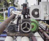 Vakuumpump för aircompressor Royaltyfri Fotografi