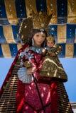 Valência, Espanha, o festival de Fallas Fotografia de Stock