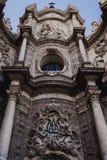 Valência, fachada da Espanha da igreja da catedral Foto de Stock Royalty Free