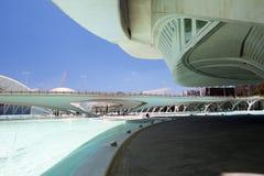 Valência Hemispheric - cidade das artes e da ciência, Spain imagem de stock