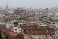 Valência, skyline da Espanha Fotos de Stock Royalty Free