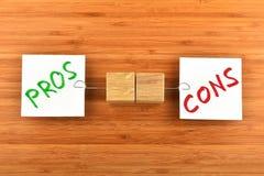 Val av två pappers- anmärkningar i olika riktningar Arkivfoton
