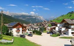 Val Badia- San Cassiano Royalty Free Stock Photo