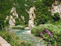 Val Brembana, Passo圣Marco的方向 免版税库存照片