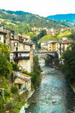 Val Brembana Italien Royaltyfri Bild