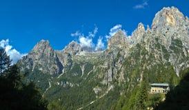Val Canali, Pale di San Martino - dolomia Fotografia Stock Libera da Diritti