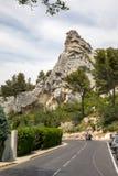 "Val d ""Efner, Les Baux de Провансаль, Bouches-du-Рона, Провансаль, стоковое фото rf"