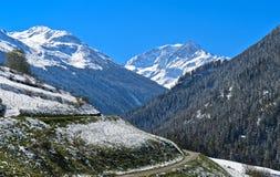 Val d`Entremont valley, Valais, Switzerland Stock Photo