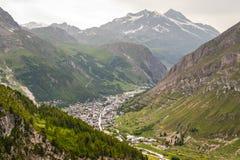 Val D'Isere (alpi francesi) Immagine Stock