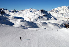 Val d Isere Ski station France Royalty Free Stock Image