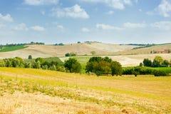 Val-d'Orcia Landschaft Stockfotografie