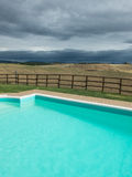 Val d'orcia - Swimming Royalty Free Stock Image