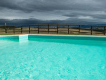 Val d'orcia - Swimming Stock Image