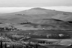 Val d ` Orcia, Tuscany, Italia Zdjęcie Royalty Free