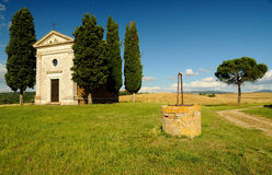 Val d'Orcia, Tuscany, Italy Stock Photos