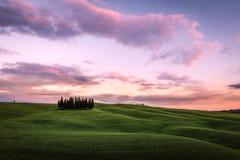 Val d`Orcia, Tuscany, Italy. Stock Photo